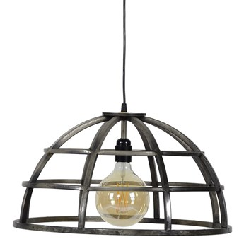 Lampa wisząca Dome ∅50 cm srebrna