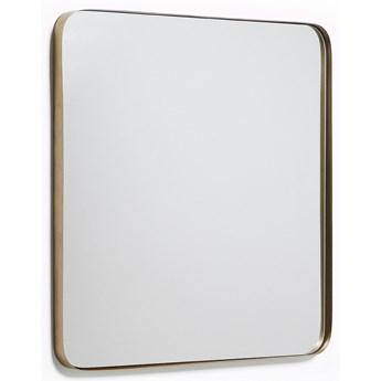 Lustro scienne Marco zlote metalowe 60 x 60 cm