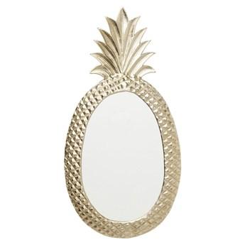 Lustro Pineapple 41x82 cm mosiężne