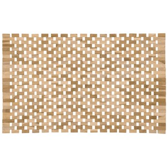 Mata łazienkowa Azuray 60x40 cm drewniana