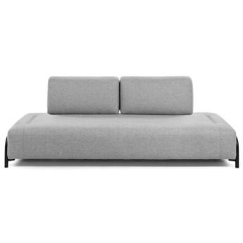 Moduł sofy Compo 232x82 cm jasnoszary