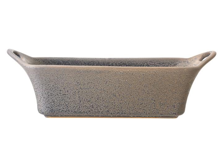 Naczynie do pieczenia Kendra 32x13 cm szare Kategoria Formy i foremki Ceramika Do ciasta Kolor Szary