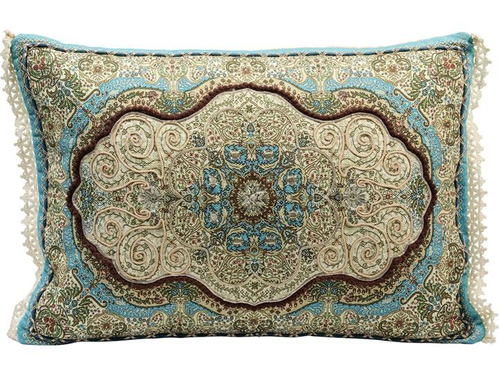 Poduszka dekoracyjna Arabeske 60x40 cm kolorowa Poliester Bawełna Poszewka dekoracyjna Prostokątne 40x60 cm Wzór Orientalny