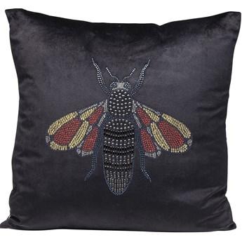 Poduszka dekoracyjna Fashion Bee 45x45 cm czarna