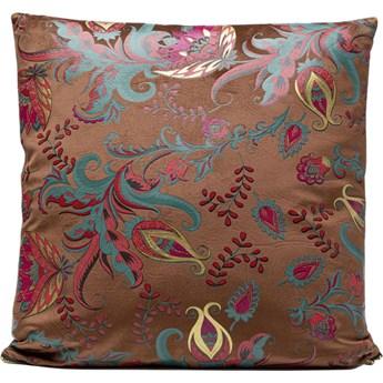 Poduszka dekoracyjna Floral Braun 45x45 cm kolorowa