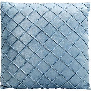 Poduszka dekoracyjna Frederica 45x45 cm niebieska
