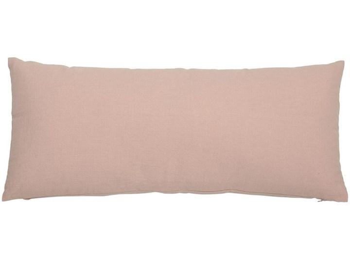 Poduszka dekoracyjna Honesty 70x30 cm różowa Wzór Jednolity Prostokątne Bawełna Poliester 30x70 cm Pomieszczenie Salon