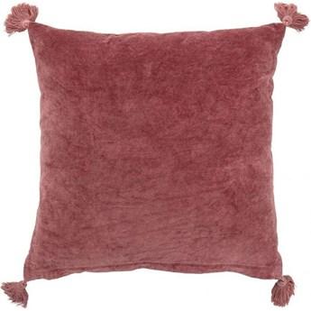Poduszka dekoracyjna Rose 45x45 cm różowa