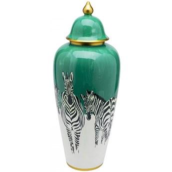 Pojemnik dekoracyjny Zebras Ø25x63 cm