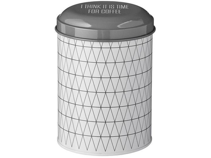 Pojemnik na kawę Triangle Ø11x16 cm Na herbatę Stal Kategoria Pojemniki i puszki Typ Pojemniki