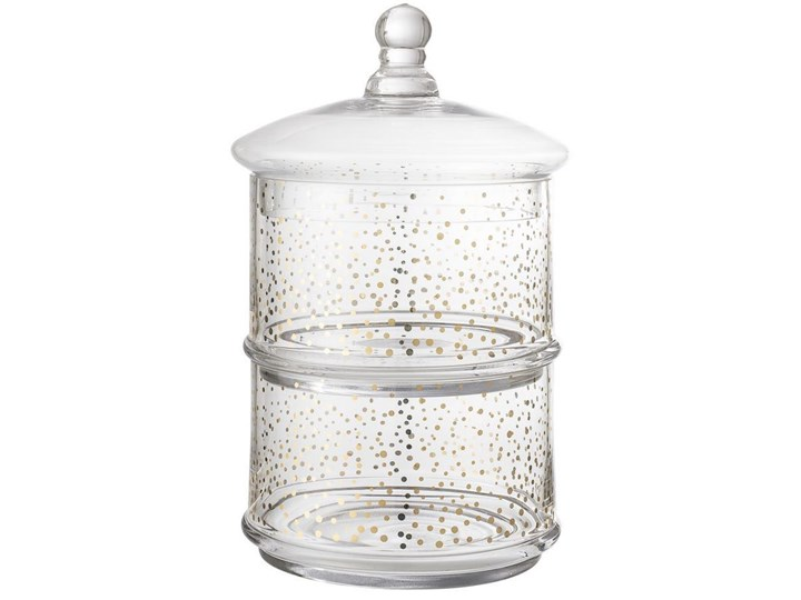 Pojemnik Sparkling Ø18x30 cm 2L transparentny
