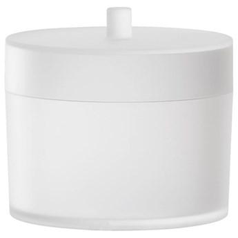Pojemnik z pokrywką Bino 10x10 cm biały