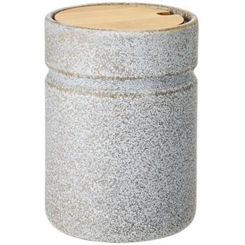 Pojemnik z pokrywką Hazel Ø11x16 cm szary