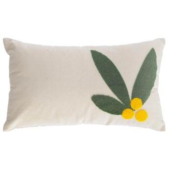 Poszewka na poduszkę Uriana 100% bawełna beżowa 30 x 50 cm