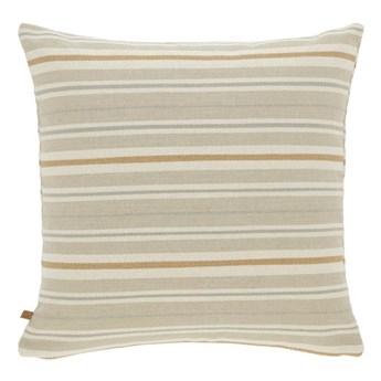 Poszewka na poduszke Sydelle 45 x 45 cm brazowe paski
