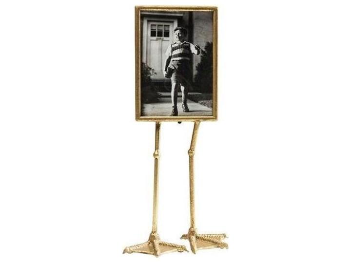 Ramka Duck Feet pionowa 19x29 cm złota Drewno Kolor Złoty Kategoria Ramy i ramki na zdjęcia