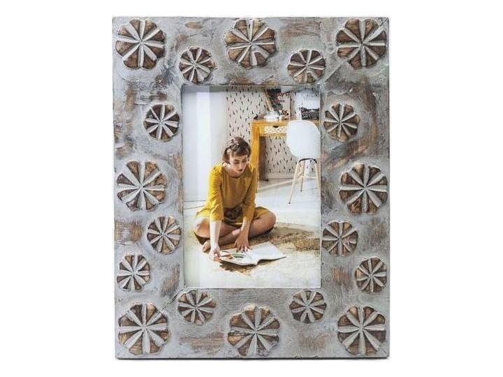 Ramka Mystic Flowers 22x27 cm szaro-złota