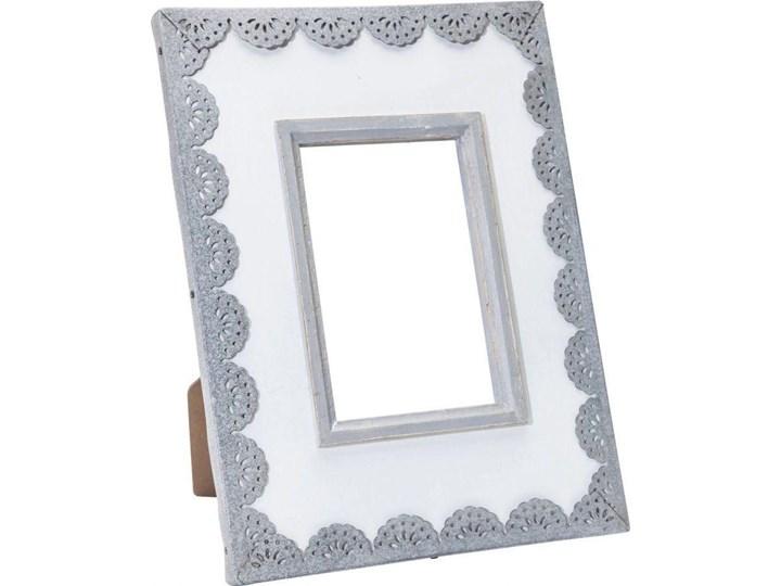 Ramka Vintage Lace 21x28 cm biało-szara Kategoria Ramy i ramki na zdjęcia Kolor Biały