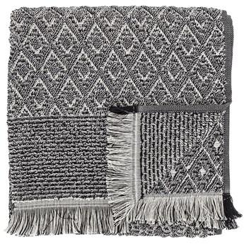 Ręcznik Incado 140x70 cm czarno-biały
