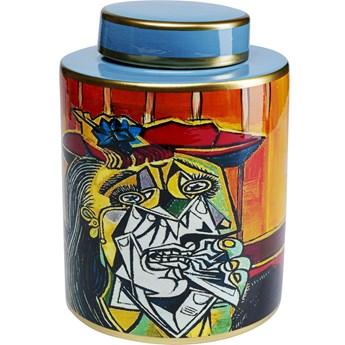 Słoik dekoracyjny Graffiti Art ∅20x27 cm kolorowy