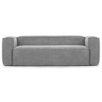 Sofa Blok 240x69 cm szara