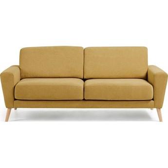 Sofa Guy 192x88 cm musztardowa