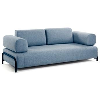 Sofa modułowa Compo 232x82 cm niebieska