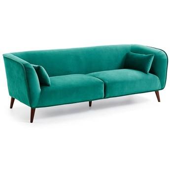 Sofa Olost 229x78 cm turkusowa