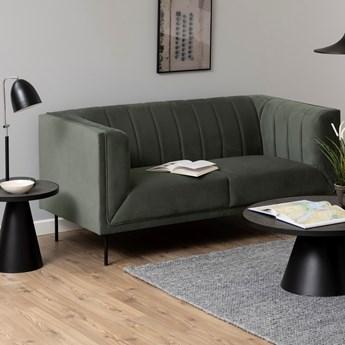 Sofa Larochelle 172 cm 2 os. szarozielona