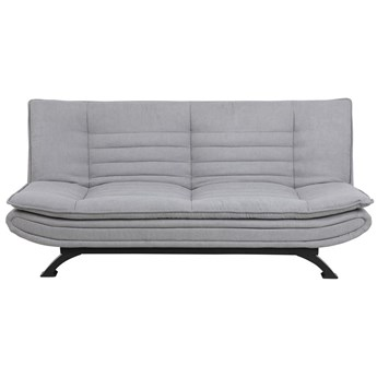 Sofa rozkładana Eveline 3 os. 196 cm jasnoszara tkanina