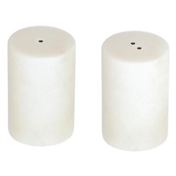 Solniczka i pieprzniczka Claria ∅5xH8 cm białe