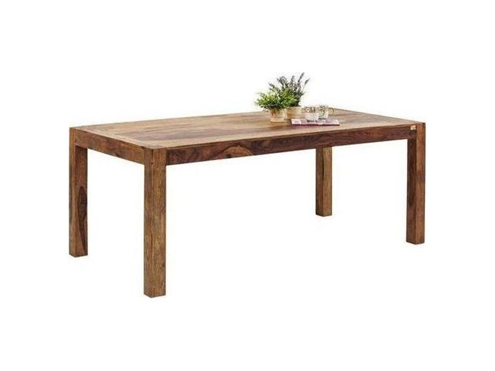 Stół Authentico 160x80 cm brązowy Drewno Długość 160 cm  Szerokość 160 cm Wysokość 75 cm Kształt blatu Prostokątny