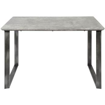 Stół Goken 120x80 cm szary
