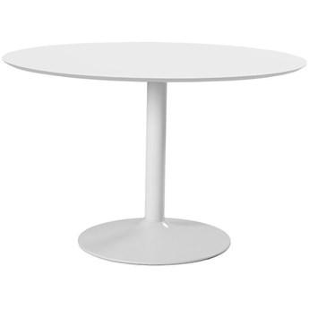 Stół Gail okrągły 110 cm biały