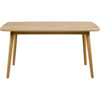 Stół Egidio 150x80 cm brązowy