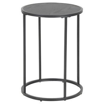 Stolik Favors Ø40xH55 cm czarny