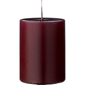 Świeca Paraffin Ø7x10 cm czerwona