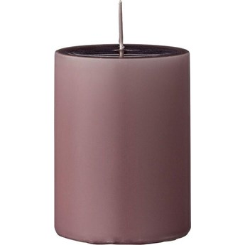 Świeca Paraffin Ø7x10 cm fioletowa