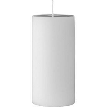 Świeca Paraffin Ø7x15 cm biała
