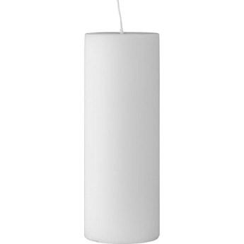 Świeca Paraffin Ø7x20 cm biała
