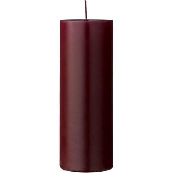 Świeca Paraffin Ø7x20 cm czerwona