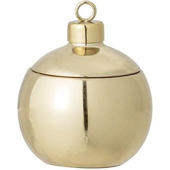 Świeca zapachowa Cozy 104 g złota