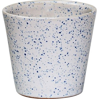 Świecznik Bati 7x8 cm niebieski