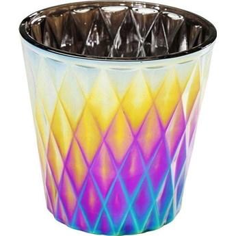 Świecznik Rainbow Comb Ø7x8 cm kolorowy