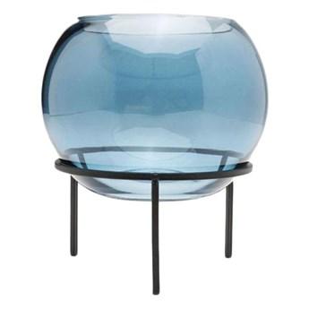 Wazon Oracle Ø15x18 cm transparentny niebieski