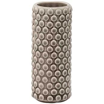 Wazon Stoneware 5x13cm brązowy