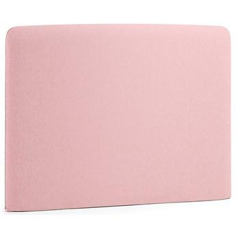 Wezgłowie naścienne Lydia 108x76 cm różowe