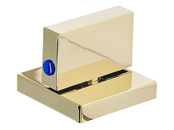 Bateria łazienkowa złota mosiężna lśniąca do umywalki nowoczesna akcesoria do wanien Wykończenie Mosiądz Bateria umywalkowa Wykończenie Stal