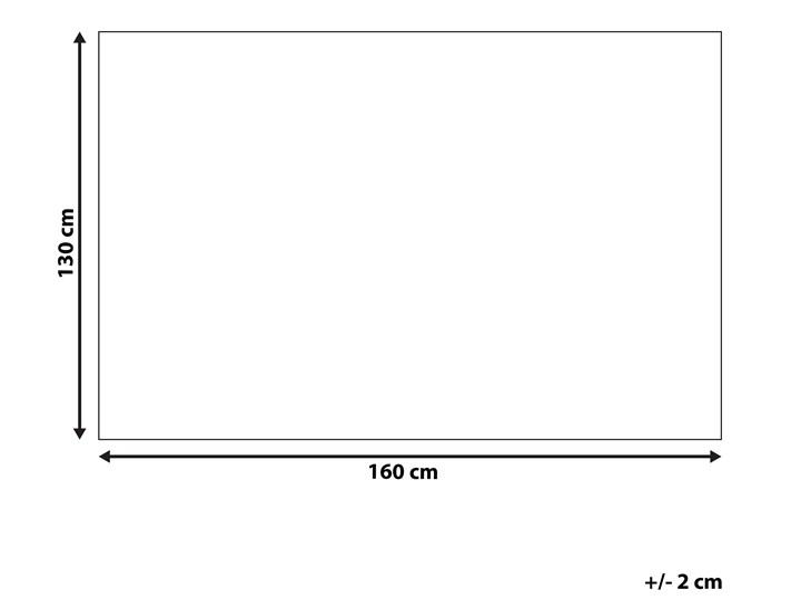 Koc wielokolorowy bawełna akryl prostokątny 130 x 160 cm narzuta na łóżko dekoracja 130x160 cm Kategoria Koce i pledy Pomieszczenie