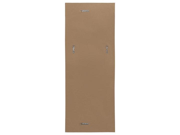 Lustro ścienne wiszące złote 50 x 130 cm dekoracyjne Prostokątne Lustro z ramą Pomieszczenie Przedpokój